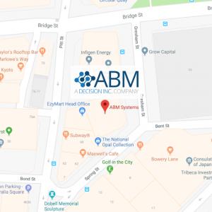 ABM Systems location map 3 Spring Street Sydney NSW