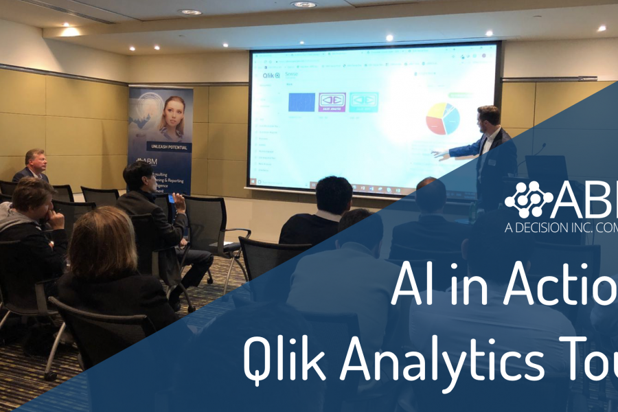 The ABM Systems AI in Action: The Qlik Analytics Tour June 2019