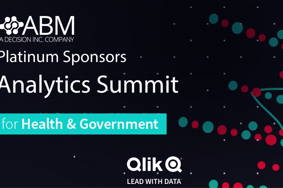 12-13 August 2019: Qlik Analytics Summit for Health & Government