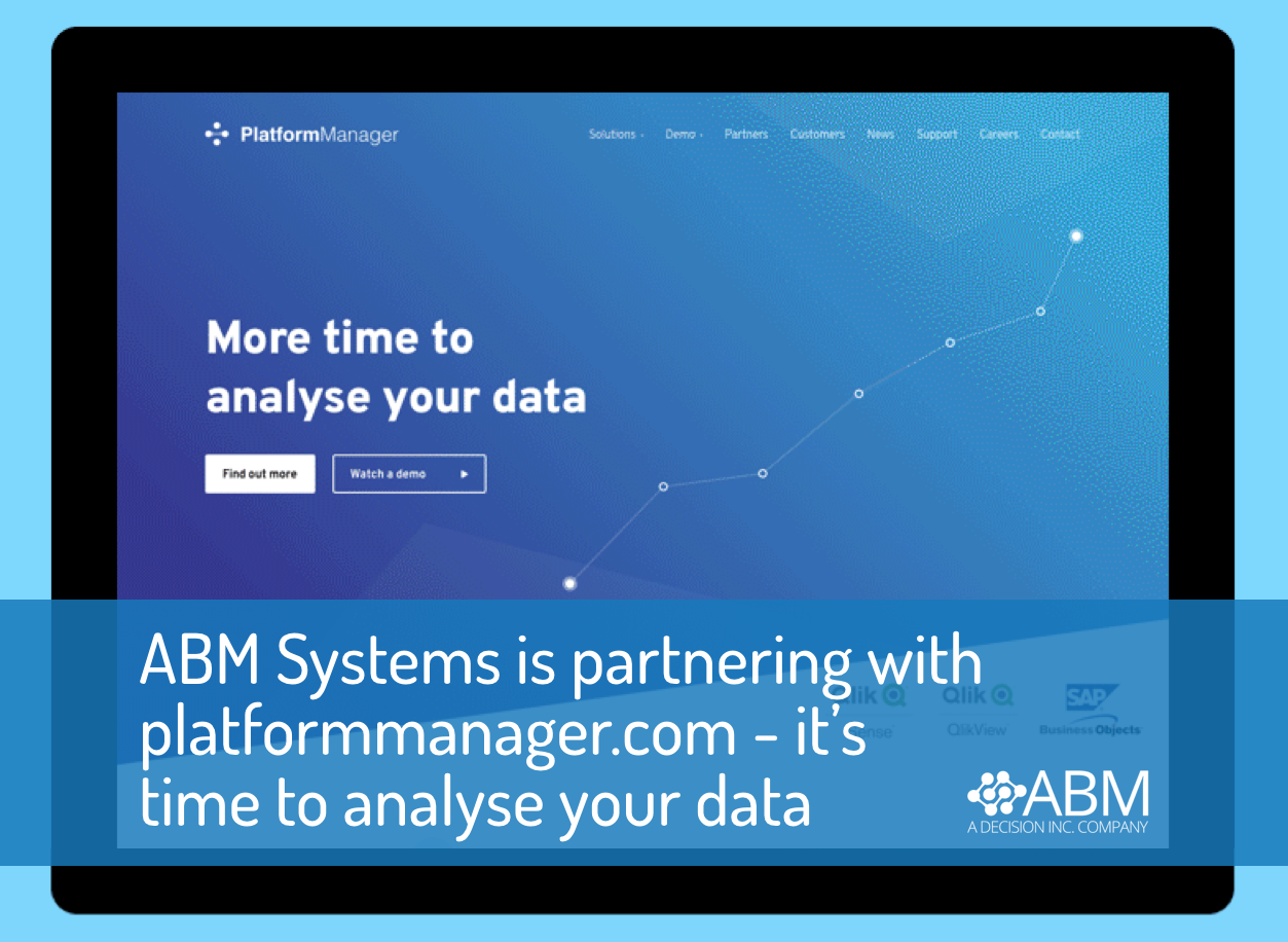 ABM SYSTEMS IS NOW PARTNERING WITH PLATFORMMANAGER.COM – BI LIFECYCLE MANAGEMENT