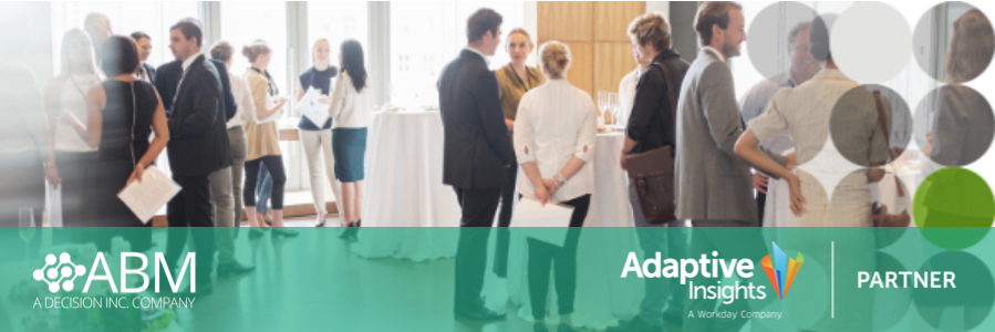 Melbourne 11 September 2019: Executive Finance Breakfast: Planning for Agility | ABM Systems & Adaptive Insights