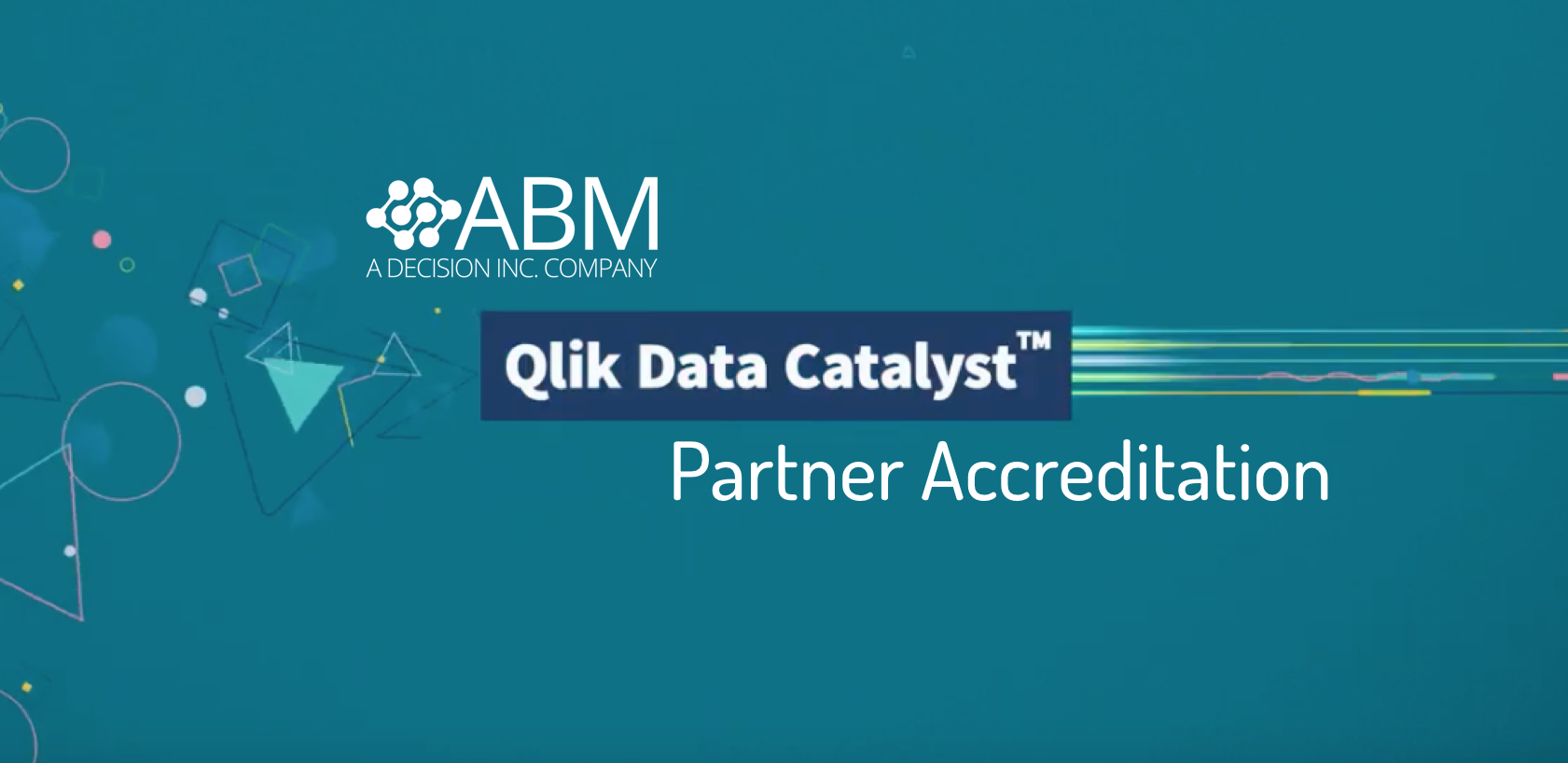 ABM Systems Qlik Data Catalyst Partner Accreditation