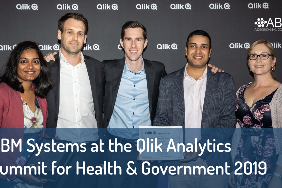 Qlik Analytics Summit for Health & Government 2019: Celebrating excellence in data analytics.