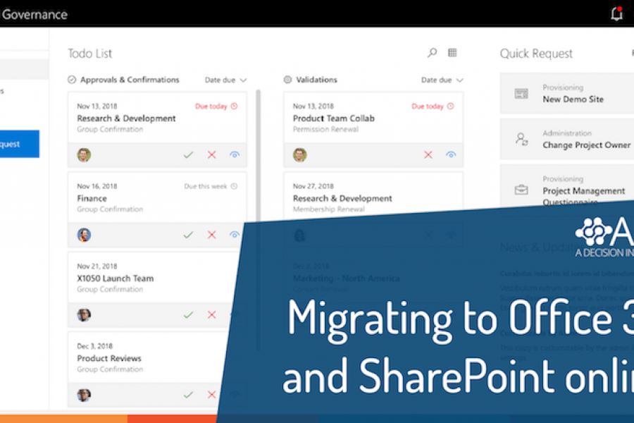 Migrating to Office 365 and SharePoint online?