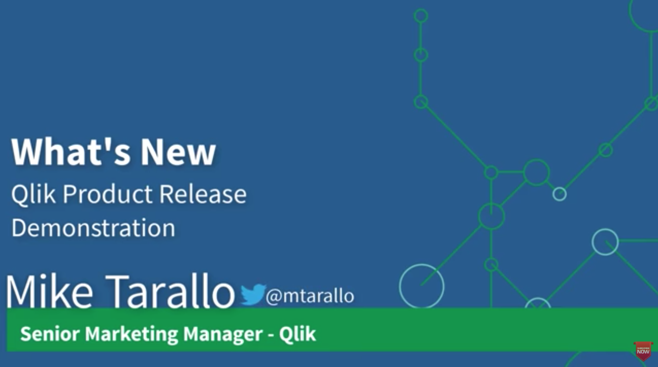 What's New: Qlik Product Release, November 2019