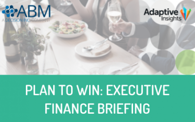 Plan to Win: Invitation – Executive Finance Briefing