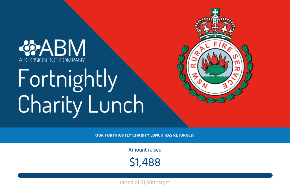 NSW RFS Charity Lunch Appeal