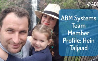ABM Systems Team Member Profile: Hein Taljaad
