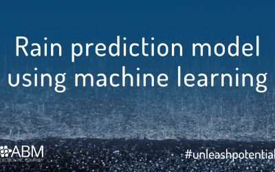 Rain prediction model using Machine Learning