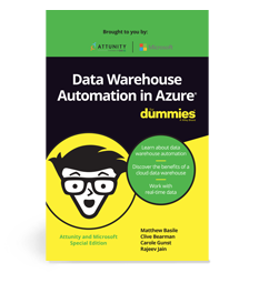 E-BOOK: Data Warehouse Automation in Azure, for dummies