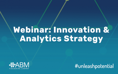 Webinar: Innovation and Analytics Strategy :: 22 April 2020