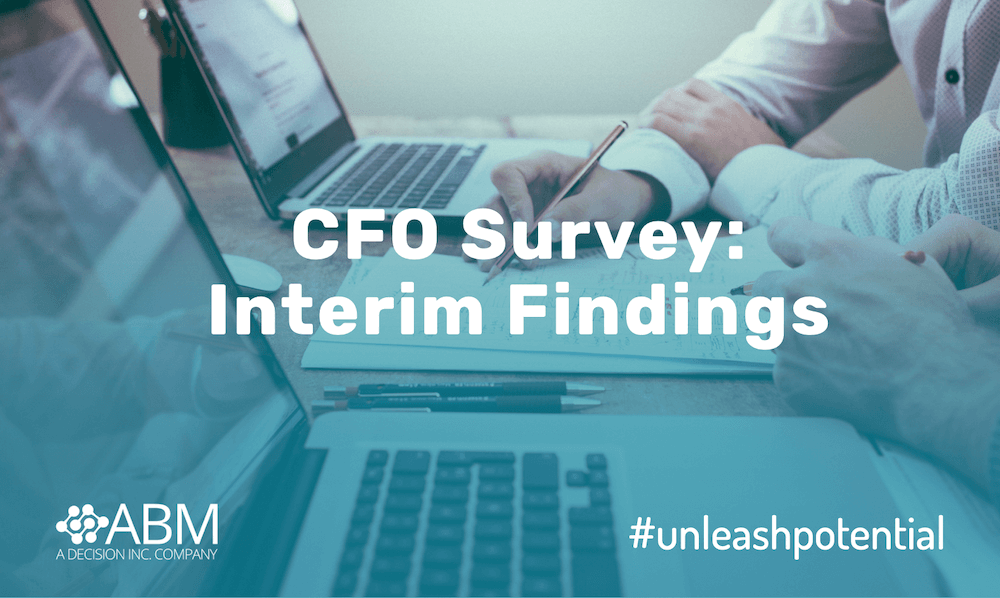 ABM Systems CFO Survey: Interim Findings