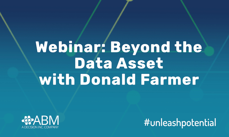 Webinar: Beyond the Data Asset :: 13 May 2020